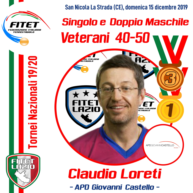 Nazionali 1 2 3 Novembre 2019 Loreti