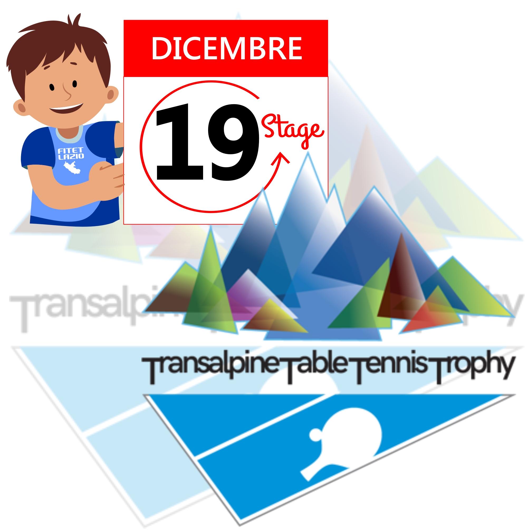 Stage Transalpino 19 dicembre 2019